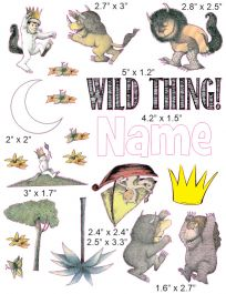 Personalized Where the wild things are Cranial Band shirt for Cranial helmet baby boy girl,charcoal bodysuit for baby with plagiocephaly