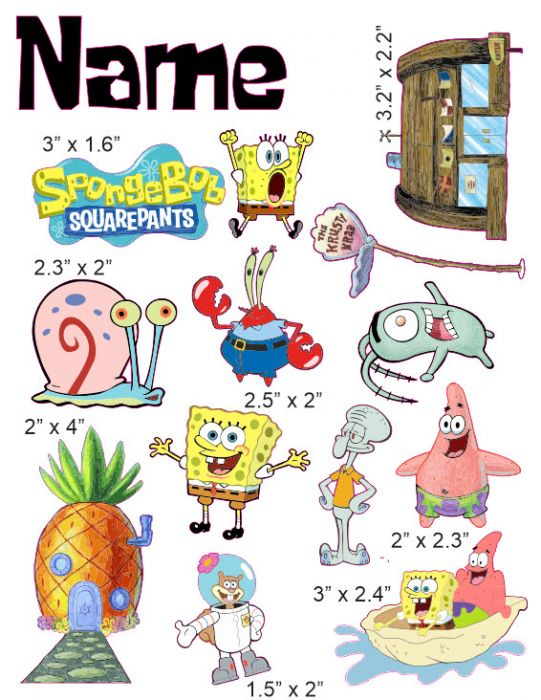 Spongebob Squarepants Baby Characters