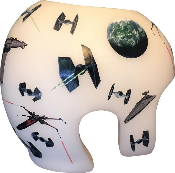 Star Wars cranial band decoration note