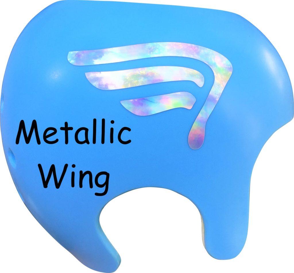 Captain America metallic wing