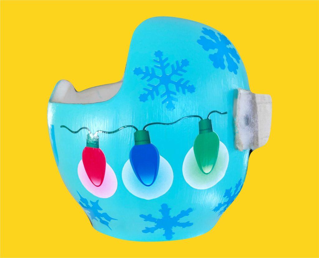 Christmas lights cranial band