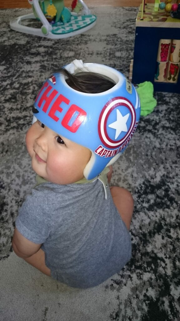 Captain America cranial band