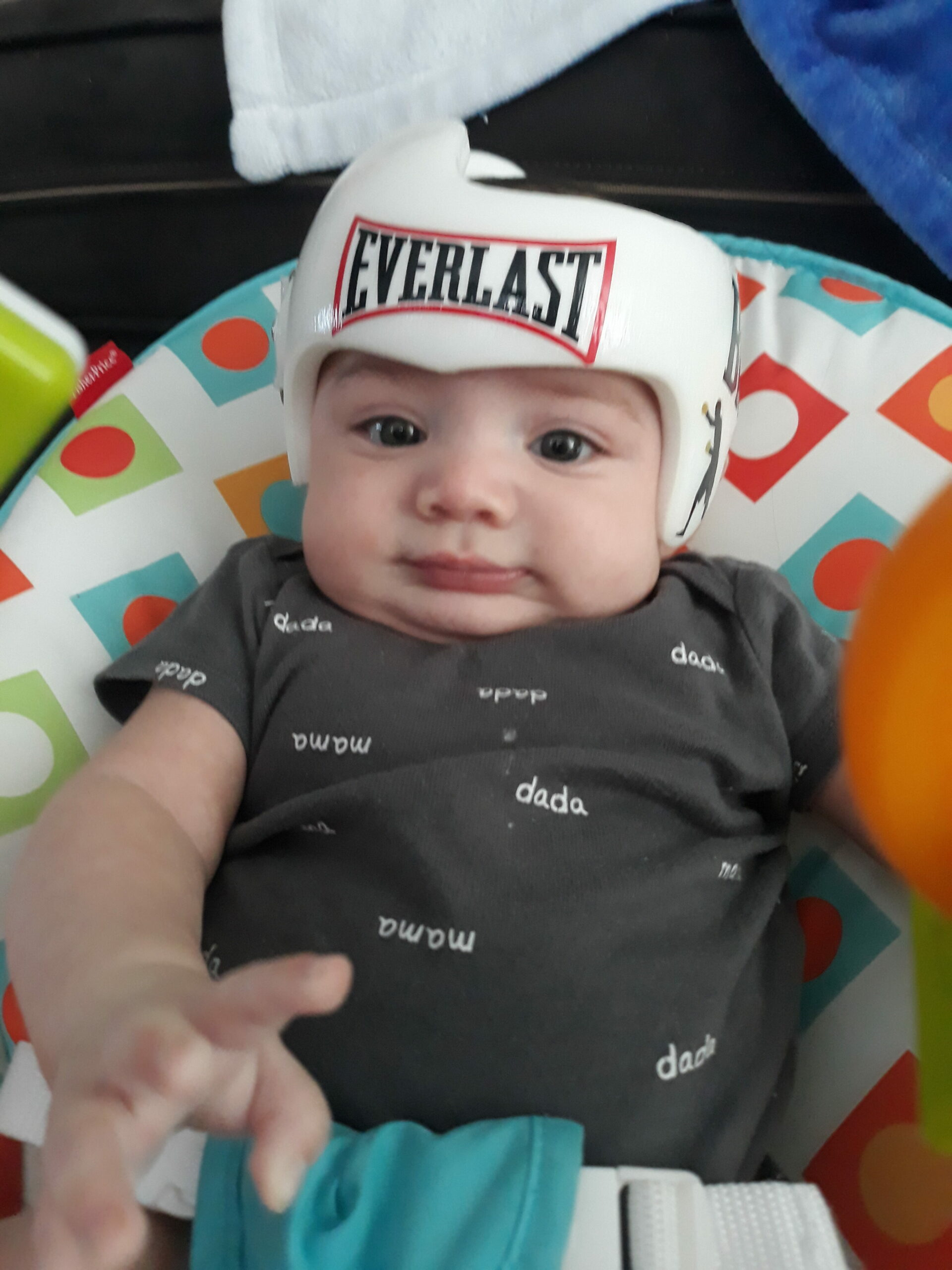 Everlast boxing cranial band