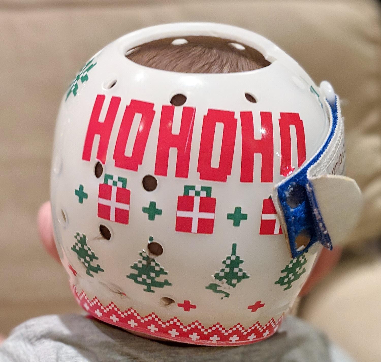I love Christmas cranial band