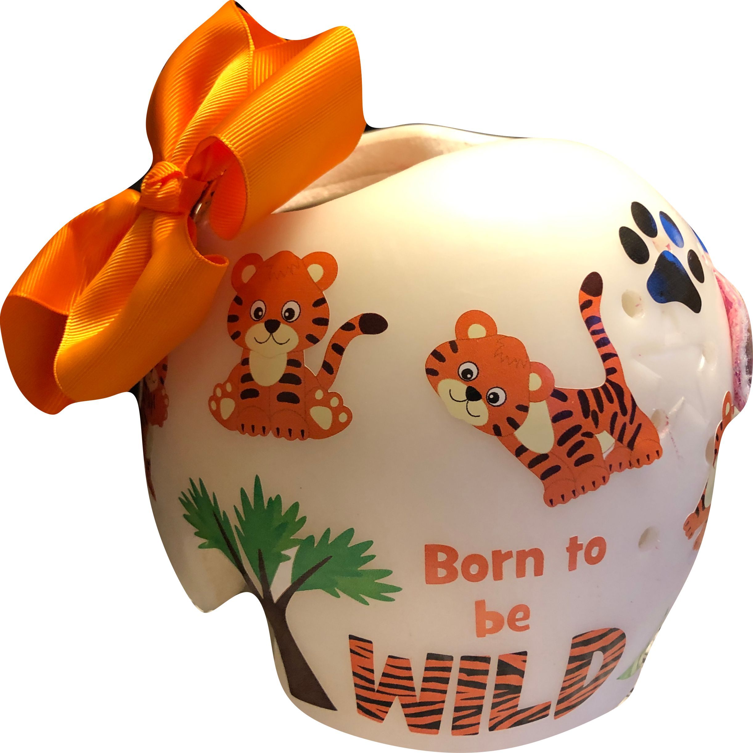 Baby fox cranial band