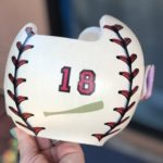 Baseball stitching 3d cranial band