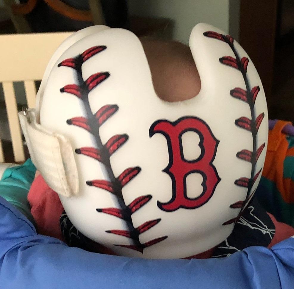 baseball stitching cranial band
