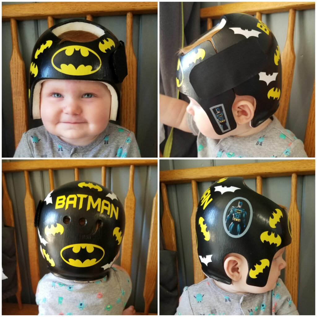 Batman cranial band