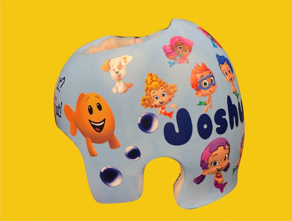 Bubble guppies cranial band