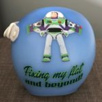 Buzz lightyear cranial band