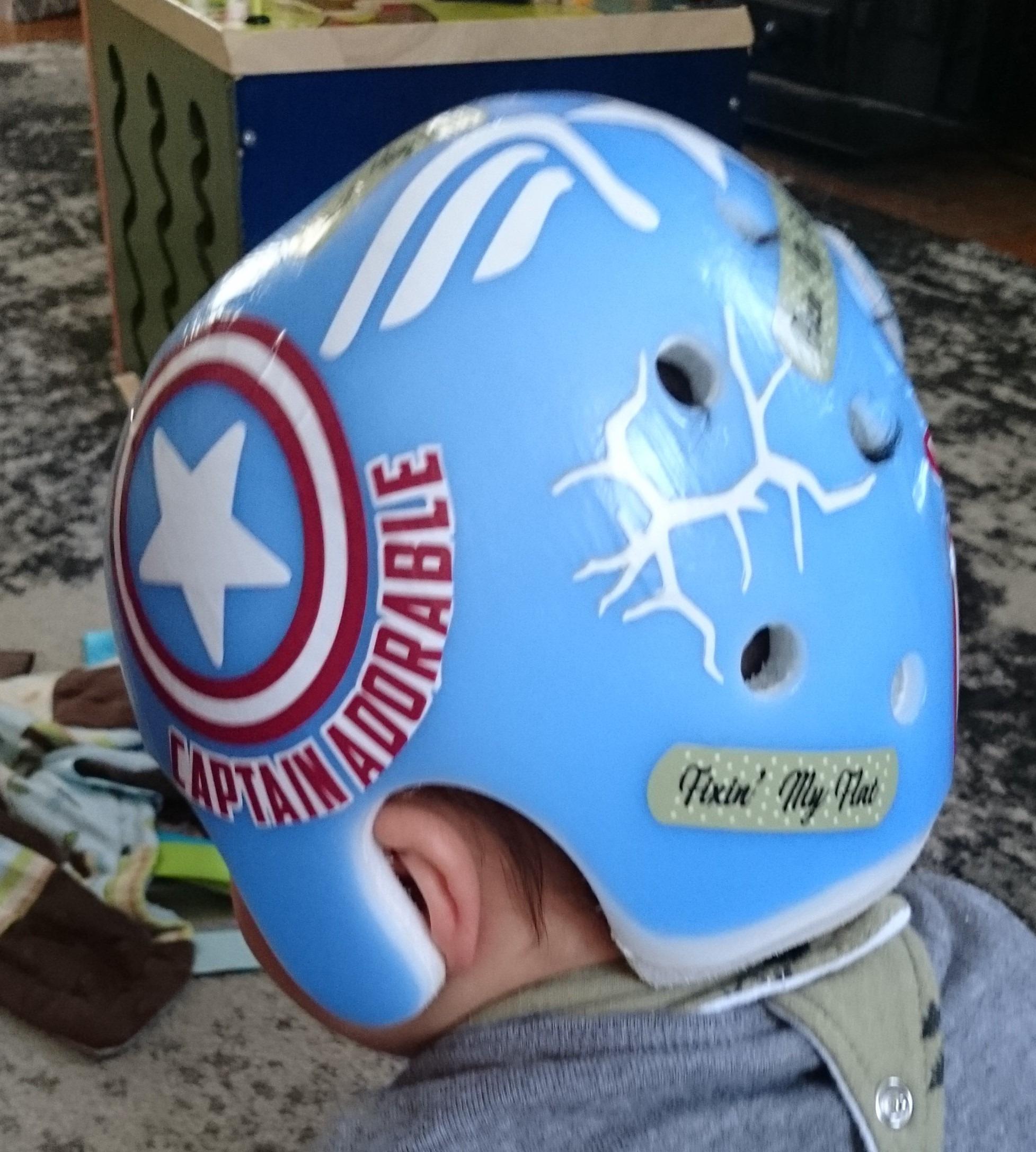 Captain adorable cranial band
