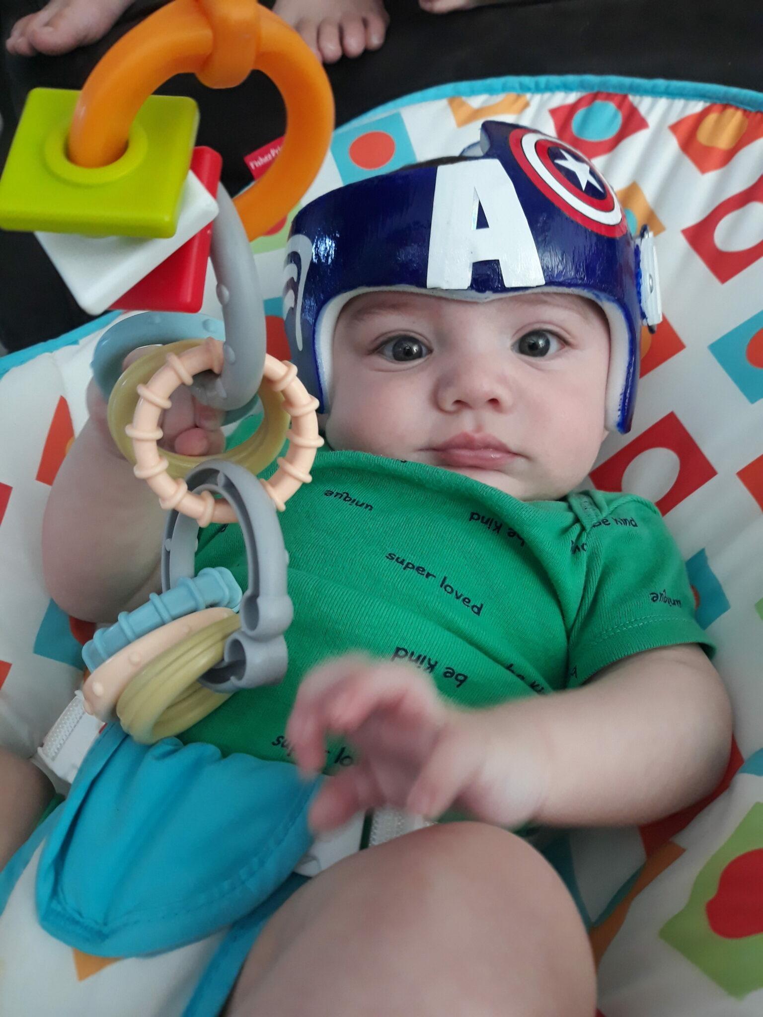 Captain America cranial band