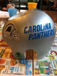 Carolina panthers cranial band