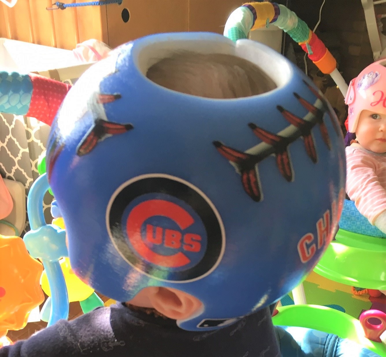 Chicago cubs baseball helmet