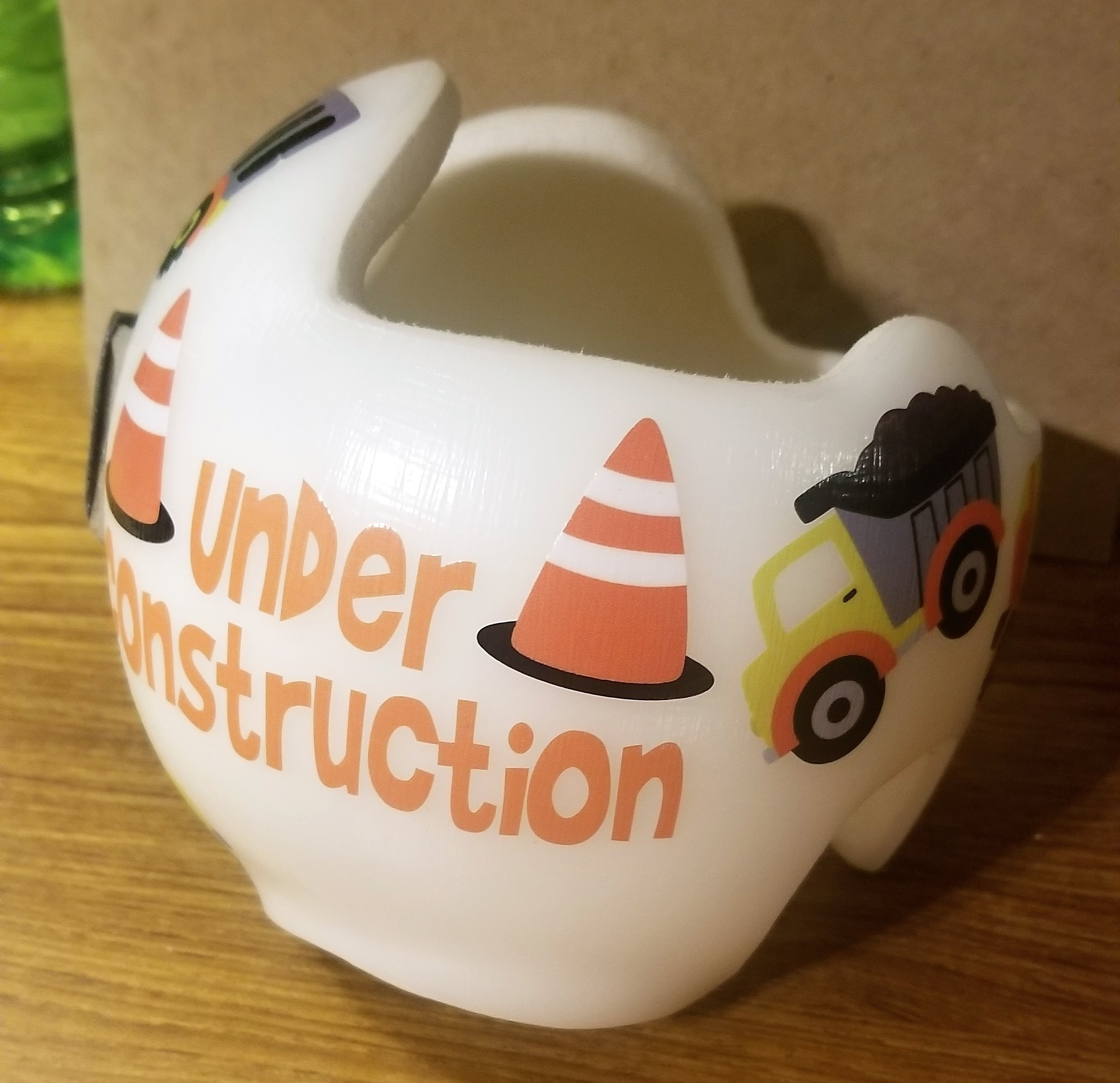 Construction doc band decoration