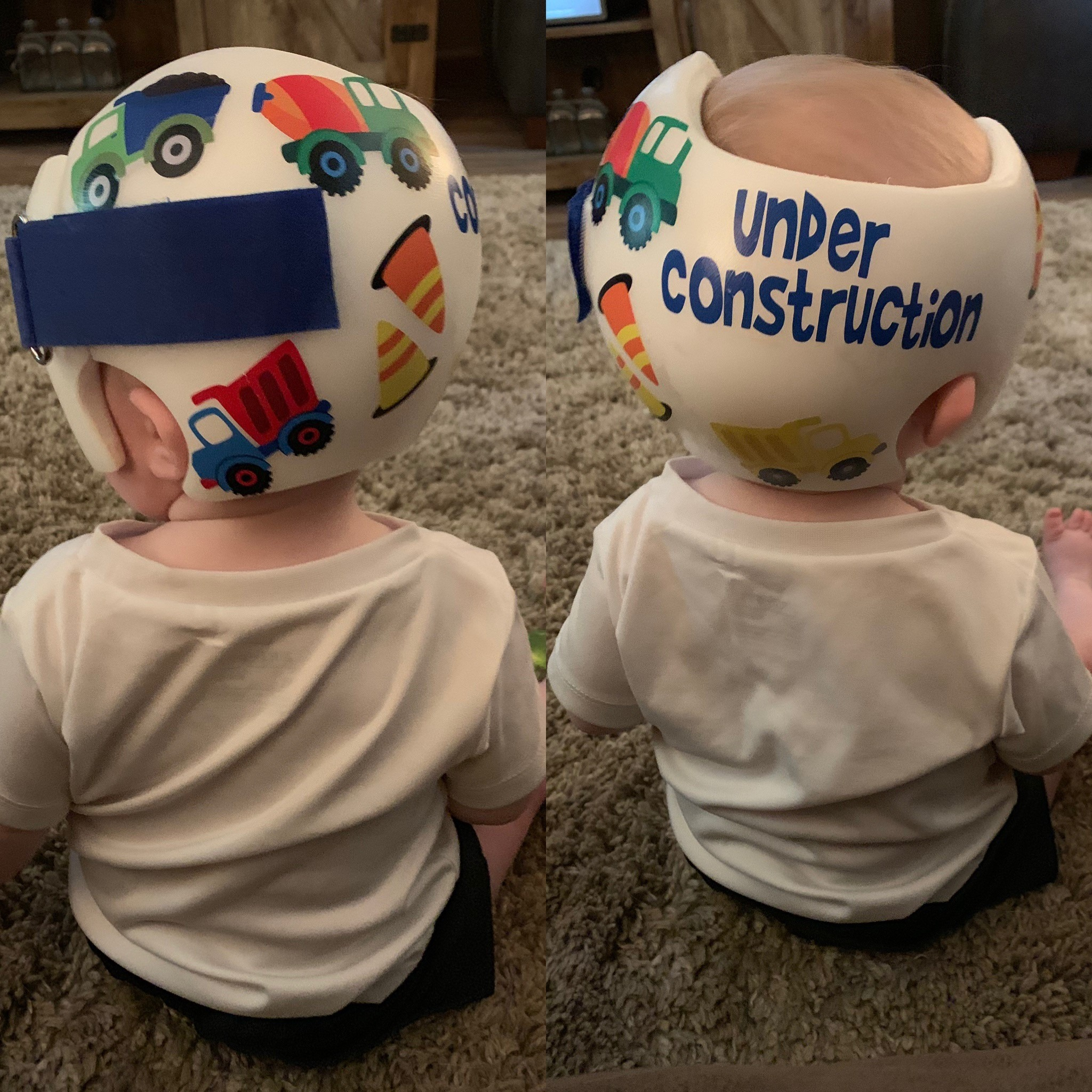 Construction 3 cranial band