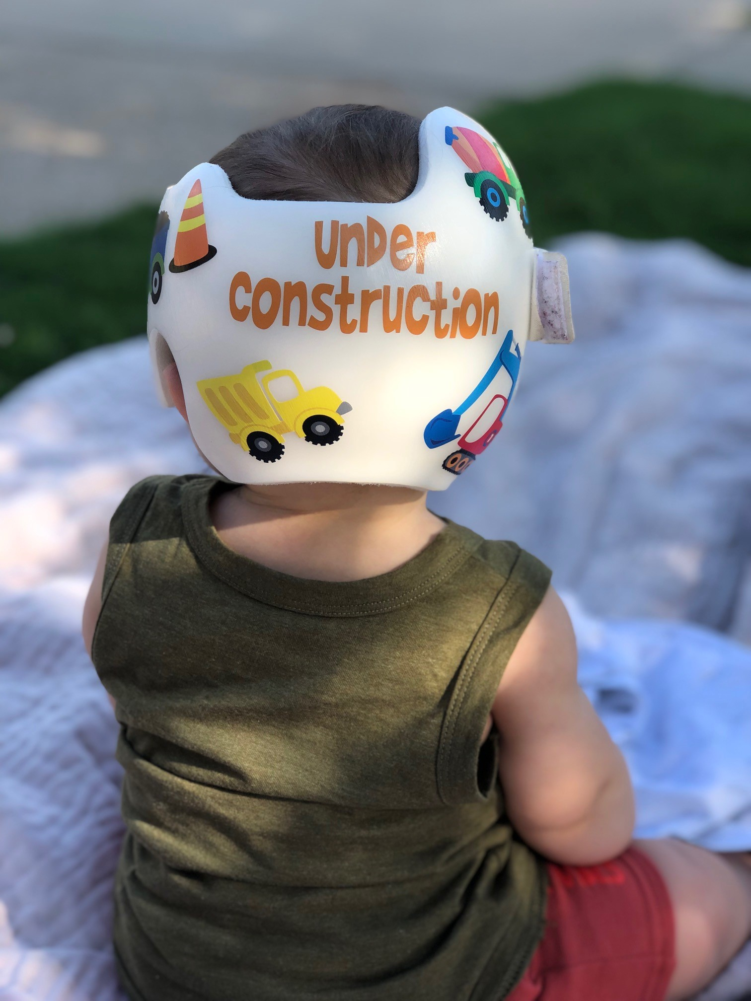 construction cranial band