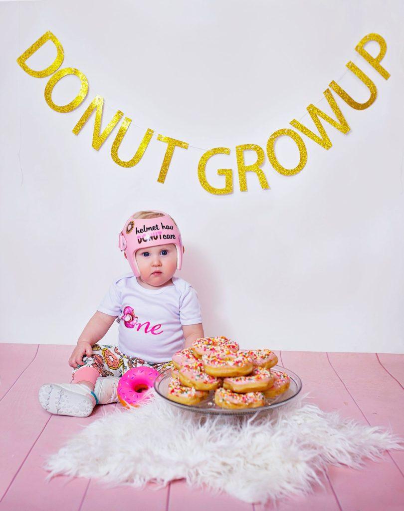 donut hair cranial band