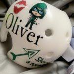 Green arrow cranial band