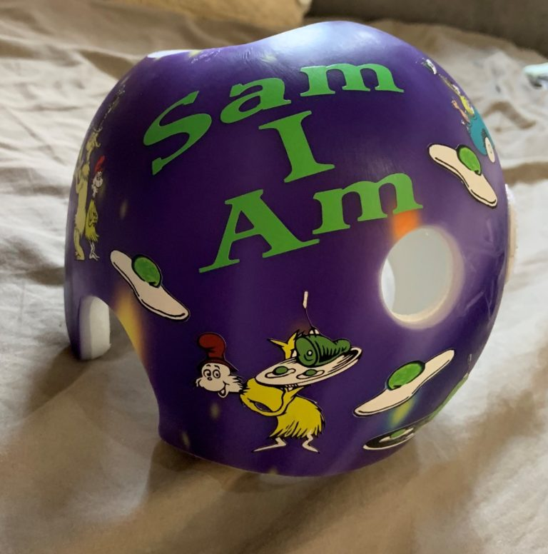 Green eggs and ham cranial band