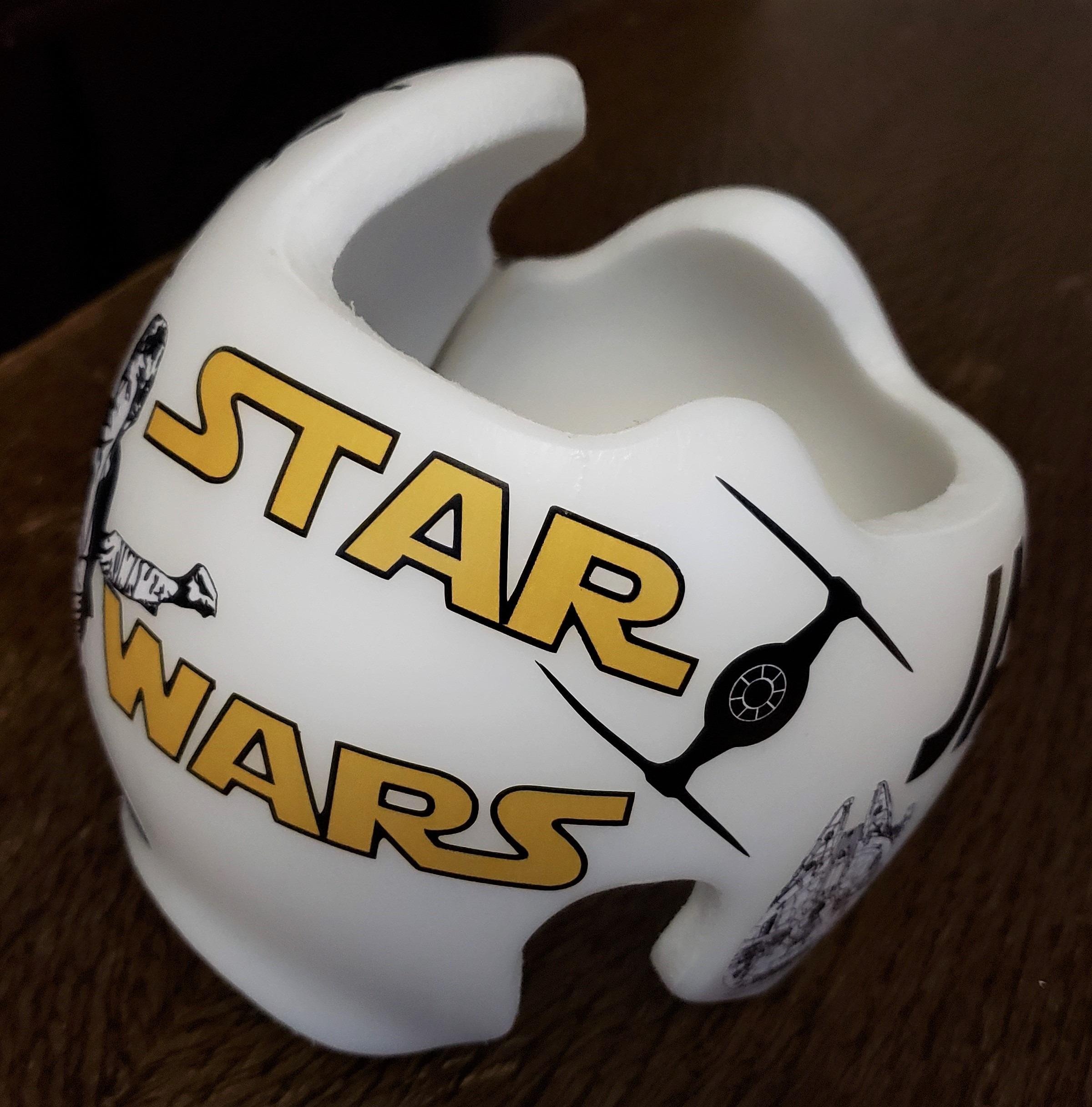 Han solo star wars cranial band