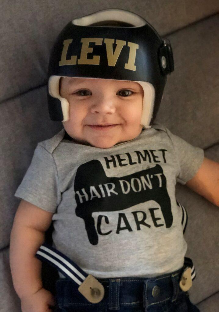 Helmet hair don't care cranial band