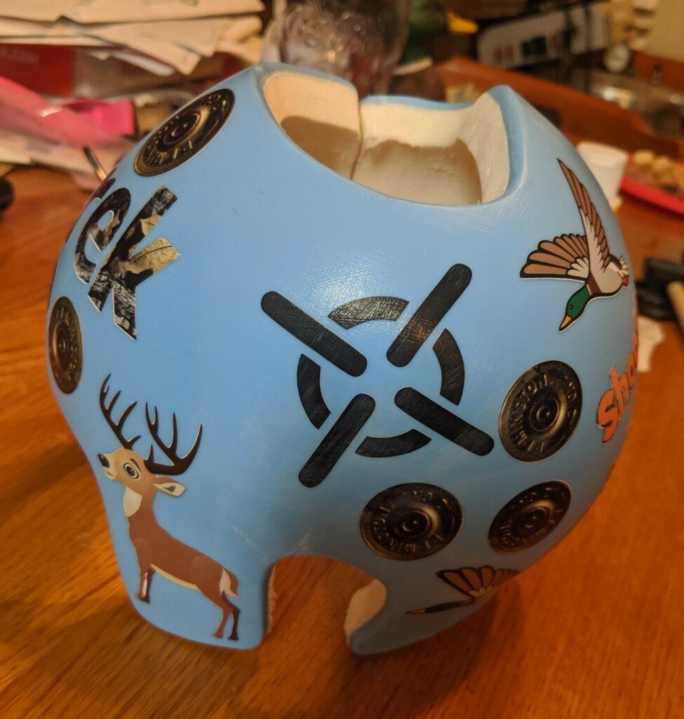 Hunting prince cranial band