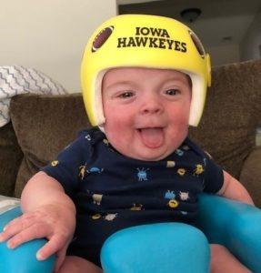 Iowa hawkeyes cranial band