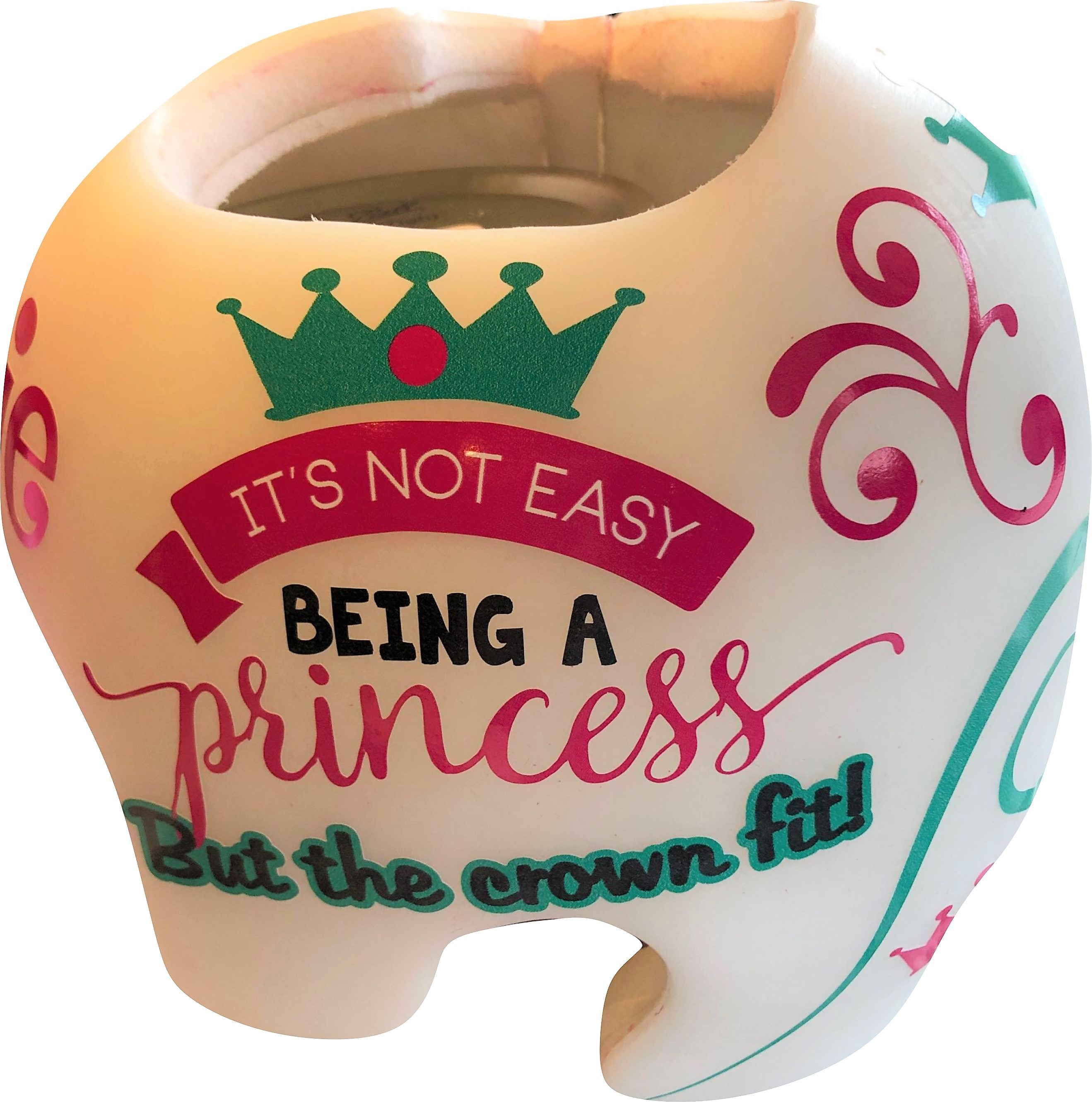 It's not easy princess cranial band