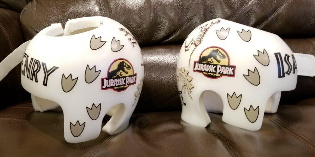 Jurassic park cranial bands
