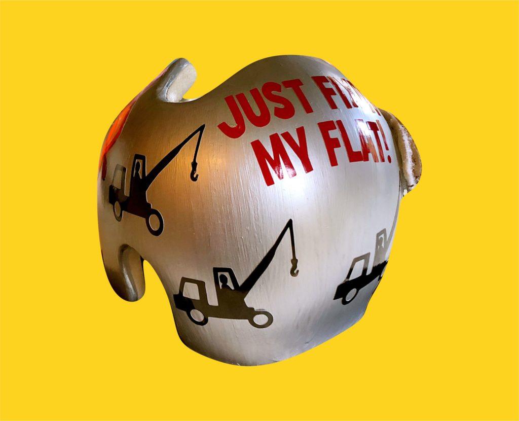 Just fixin my flat 10 cranial band