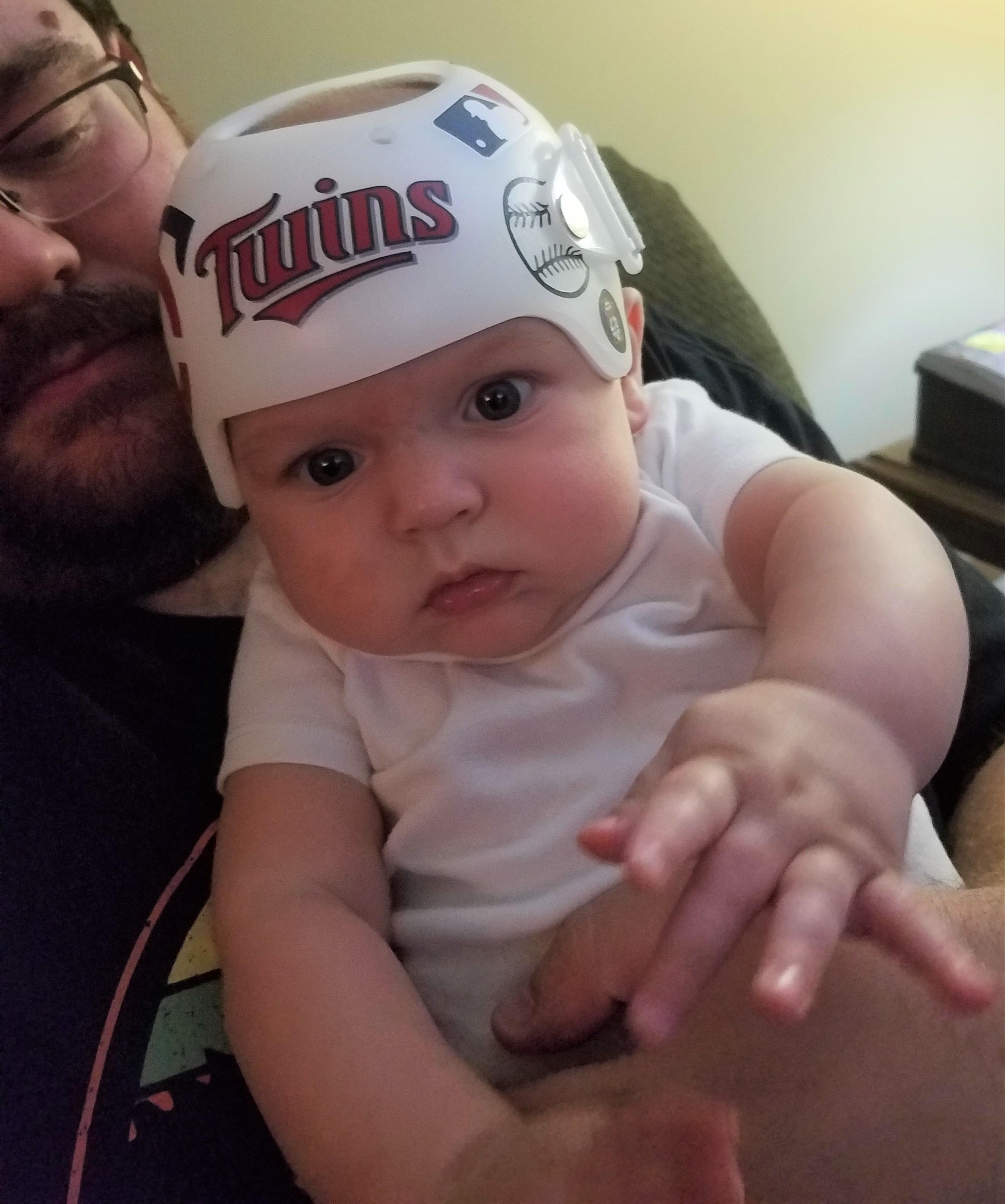 Minnesota twins cranial band