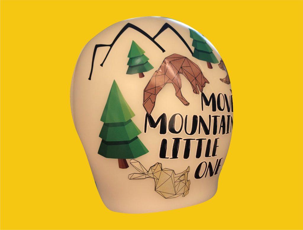 Move mountains cranial band