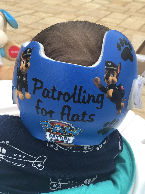 Paw Patrol doc band decoration