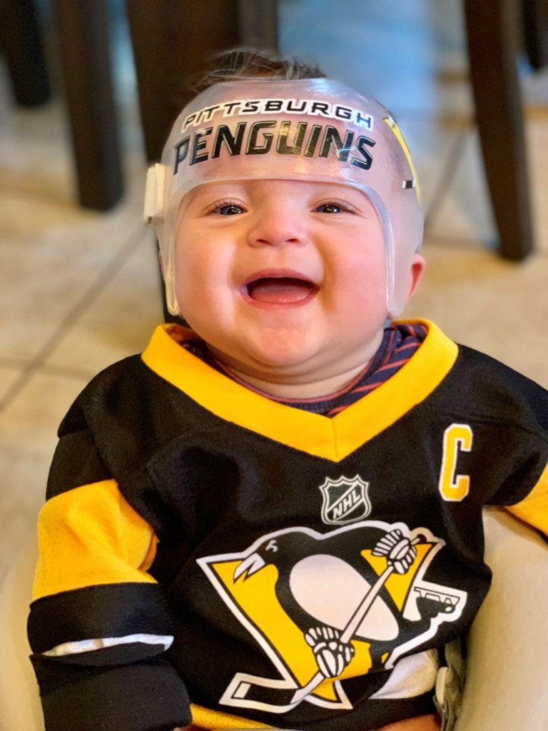 Pittsburgh penguins cranial band