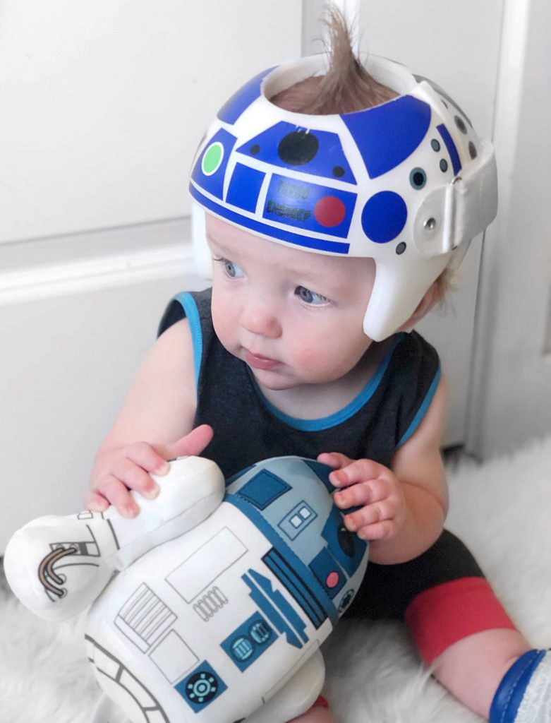 R2D2 star wars cranial band