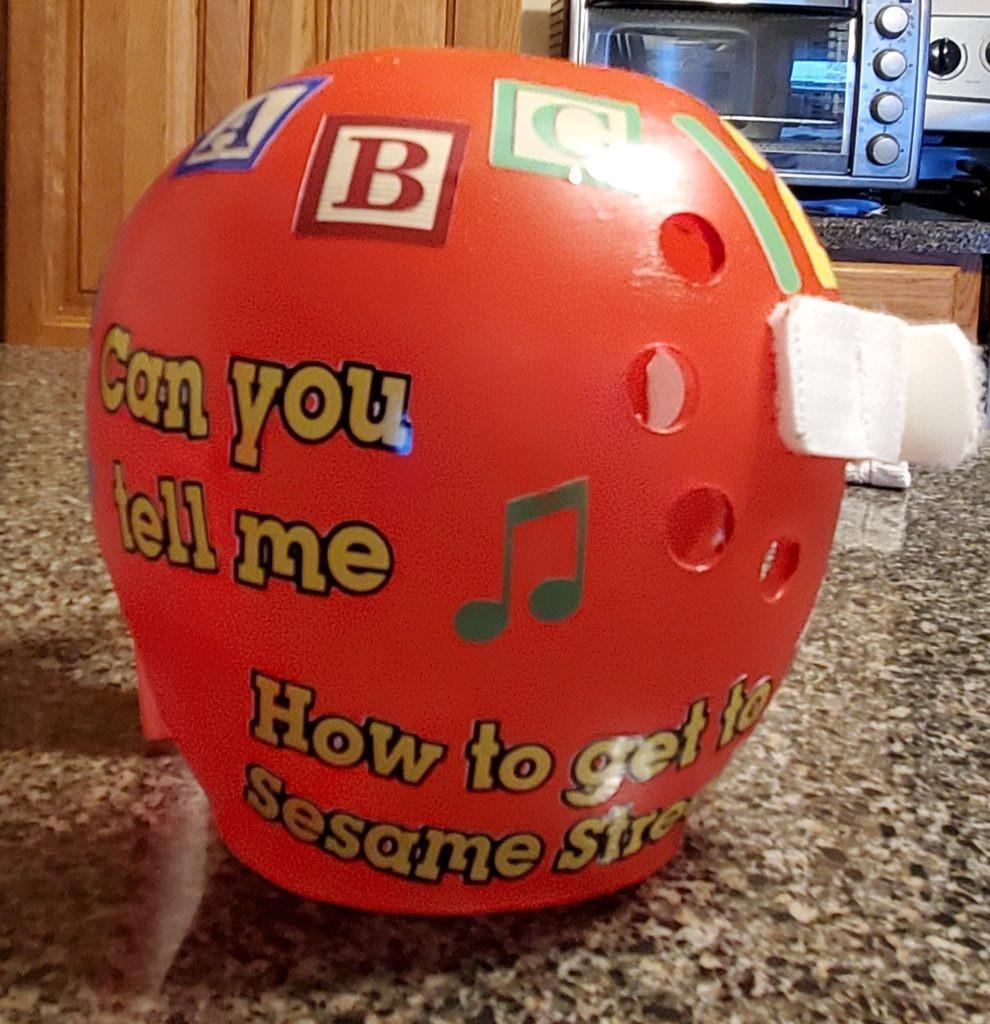 Sesame street cranial band
