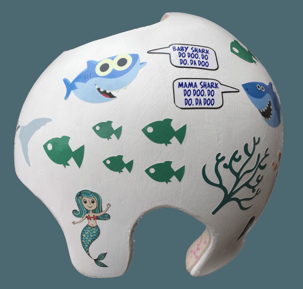 Shark cranial band