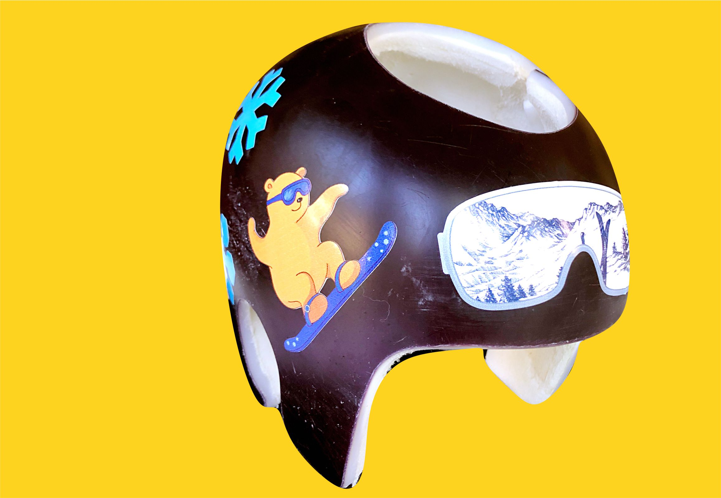 Snow boarding cranial band