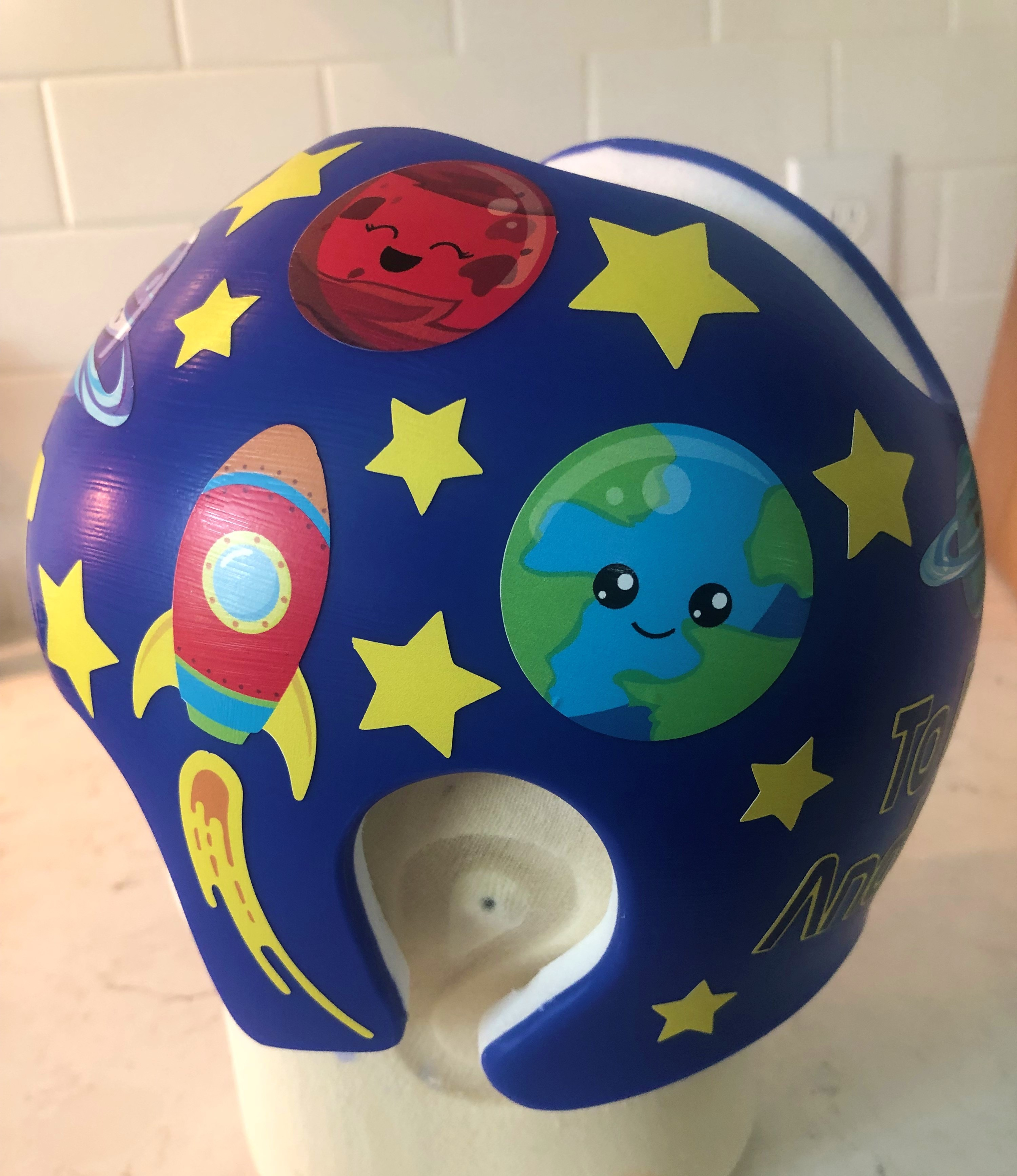 Solar system cranial band
