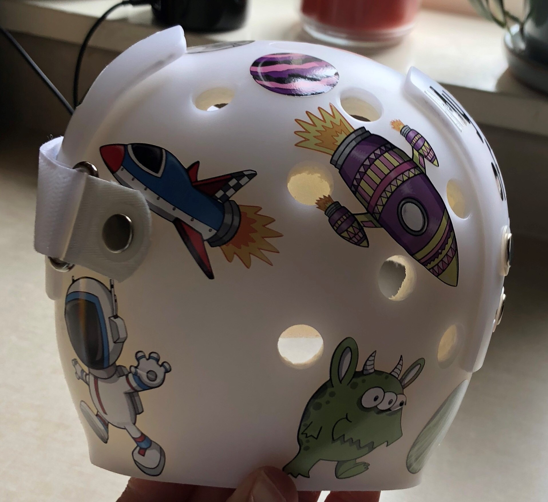 Spaceships cranial band