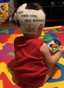 Spiderman cranial band