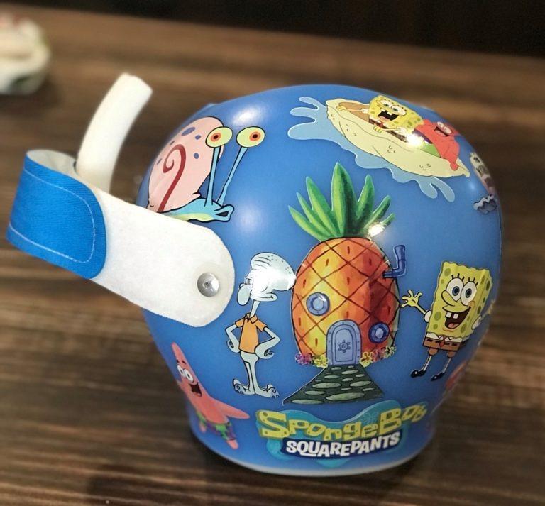 Spongebob squarepants cranial band