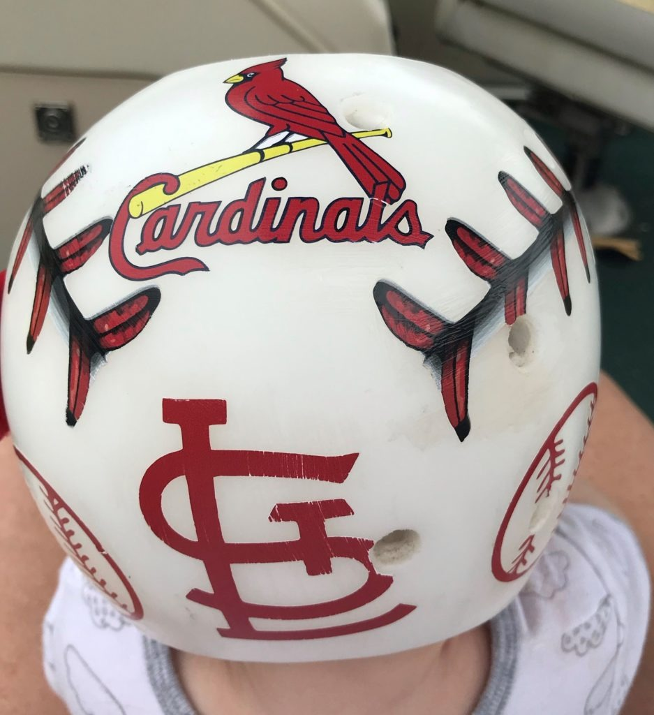 St louis cardinals baseball hanger band