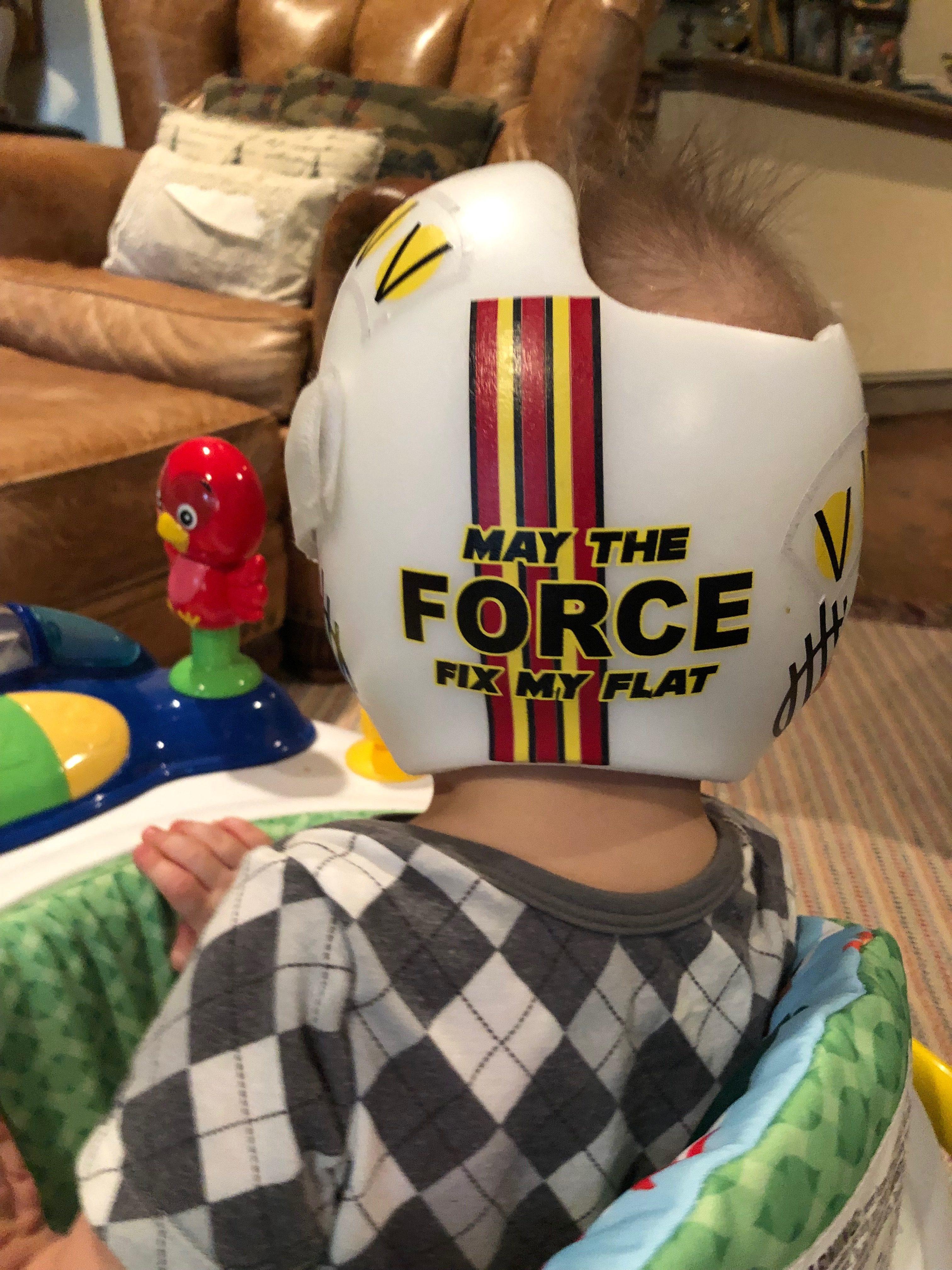 Star wars rebel pilot cranial band