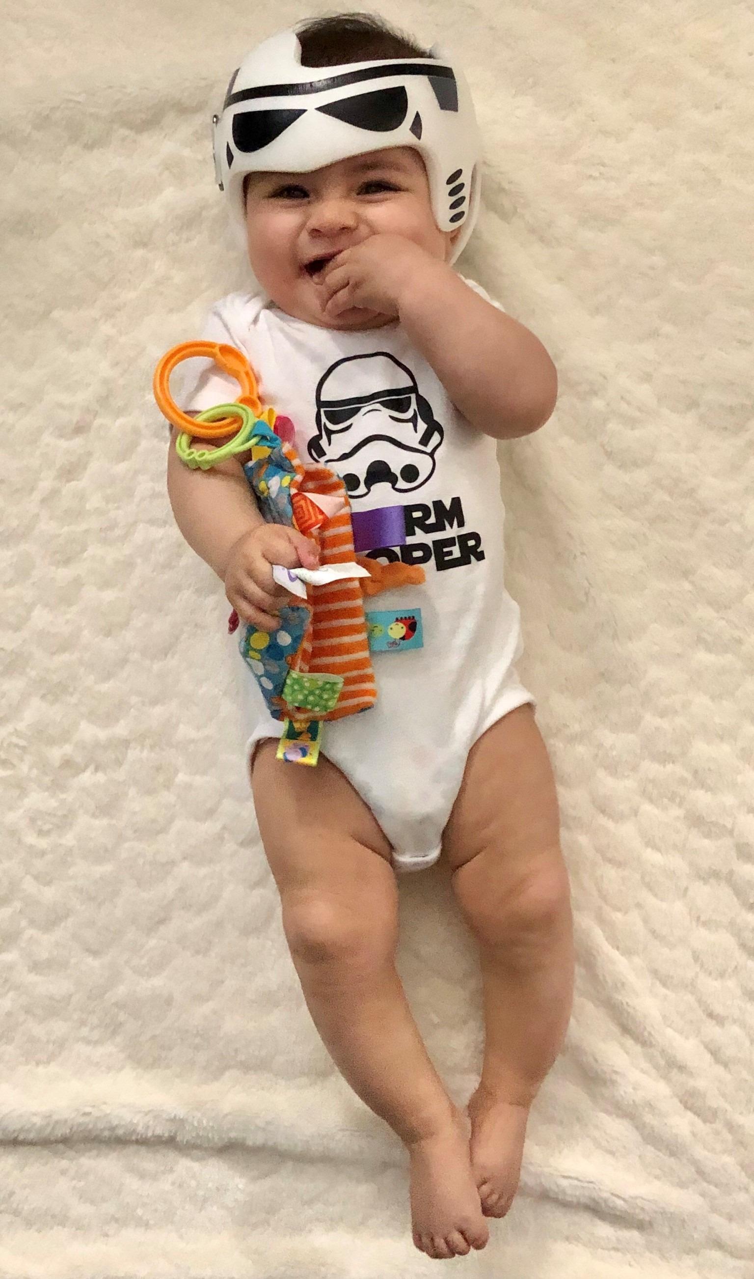 Storm Trooper star wars cranial band