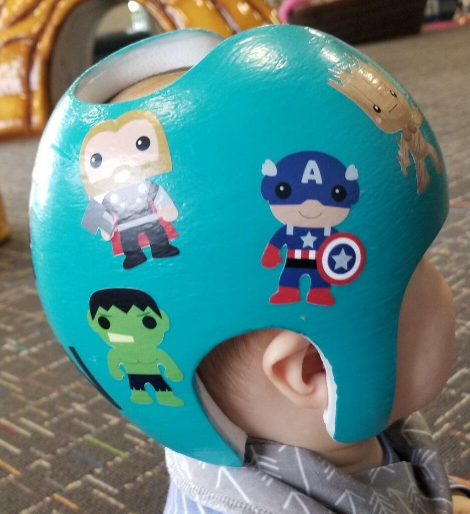 Super heros cranial band
