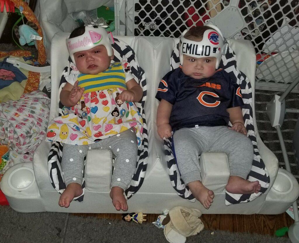 twins cranial bands