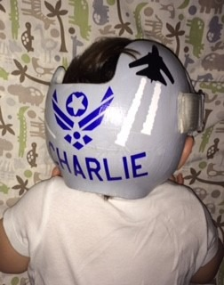 US Air force cranial band