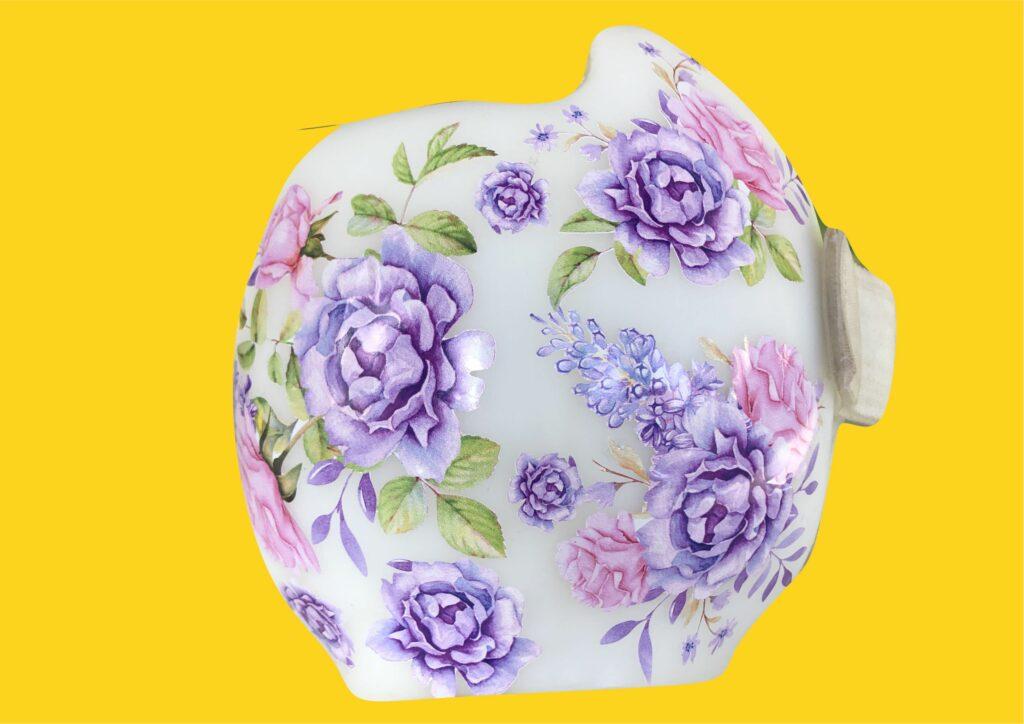 Watercolor roses 3 cranial band